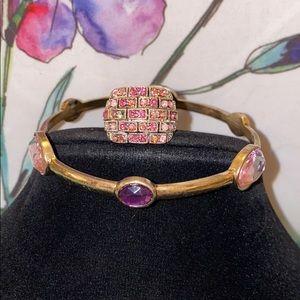 Vintage Ring & Bracelet Set